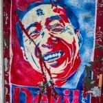 Hu Jintao Obama Devil