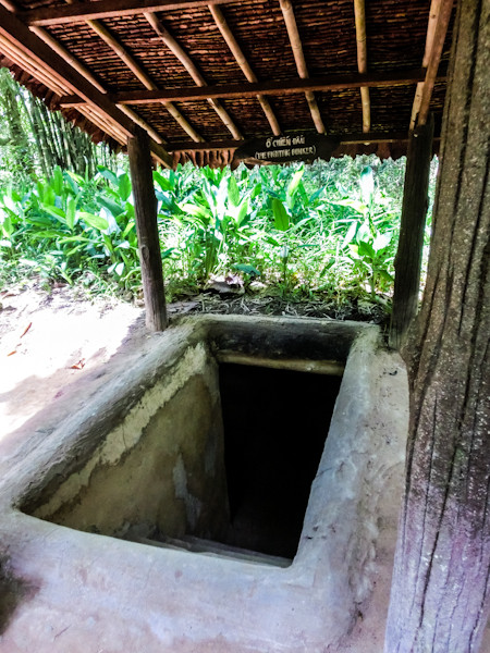 cu chi tunnels vietnam photo ooaworld Rolling Coconut