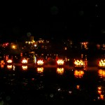 floating lotus candles hoi an vietnam photo ooaworld Rolling Coconut