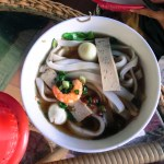 seafood rice noodle vietnam food photo ooaworld Rolling Coconut