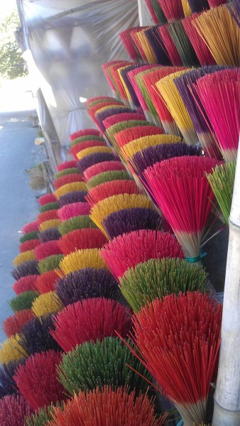 incense sticks vietnam hue photo ooaworld Rolling Coconut