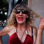 Transvestite Portrait, Los Angeles