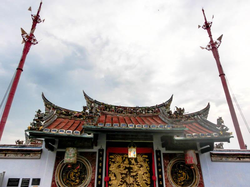 Chinese Temple Melaka Malaysia photo ooaworld Rolling Coconut
