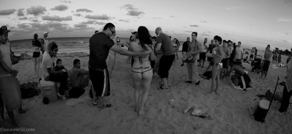 Photo miami beach fearless dance USA road trip ooaworld