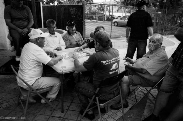 miami little havana domino king USA road trip photo ooaworld