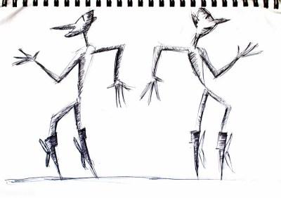 moonwalk drawing art ooaworld ooaddle