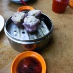 Purple Shu Mai Georgetown Malaysia photo ooaworld Rolling Coconut