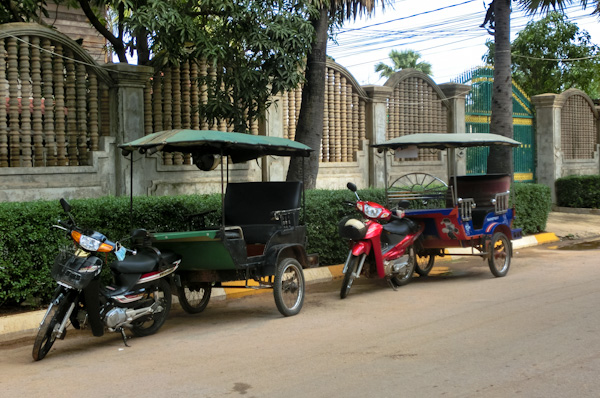 moped tuk tuk siem reap cambodia photo ooaworld Rolling Coconut