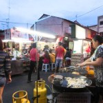 Street Food Fair Melaka Malaysia photo ooaworld Rolling Coconut
