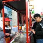 Street Noodles Beijing China photo ooaworld Rolling Coconut