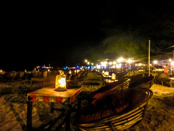 beach dinner sihanoukville cambodia photo ooaworld Rolling Coconut