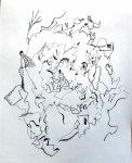 treasure map art drawing ooaworld ooaddle
