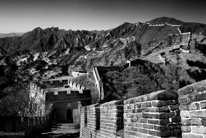 view of mutianyu great wall china photo ooaworld