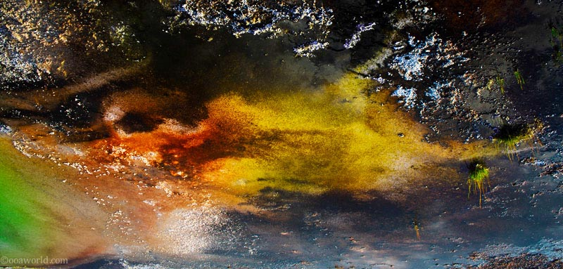 Colors, Yellowstone Park
