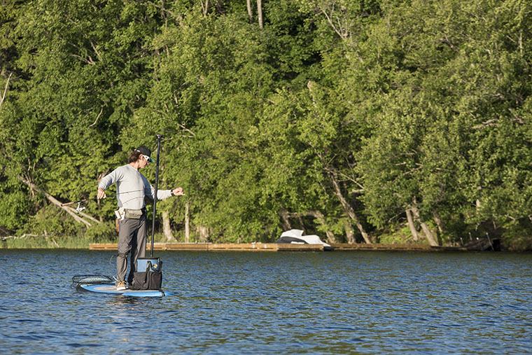 SUP fishing 101 - feature