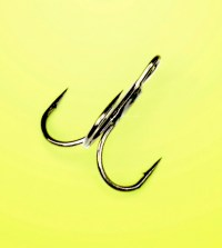 walleye hooks - treble