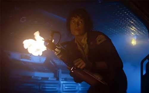 ripley alien flamethrower