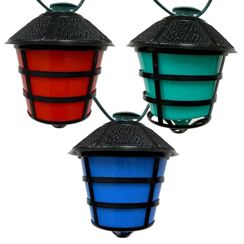 rv retro lanterns party string lights