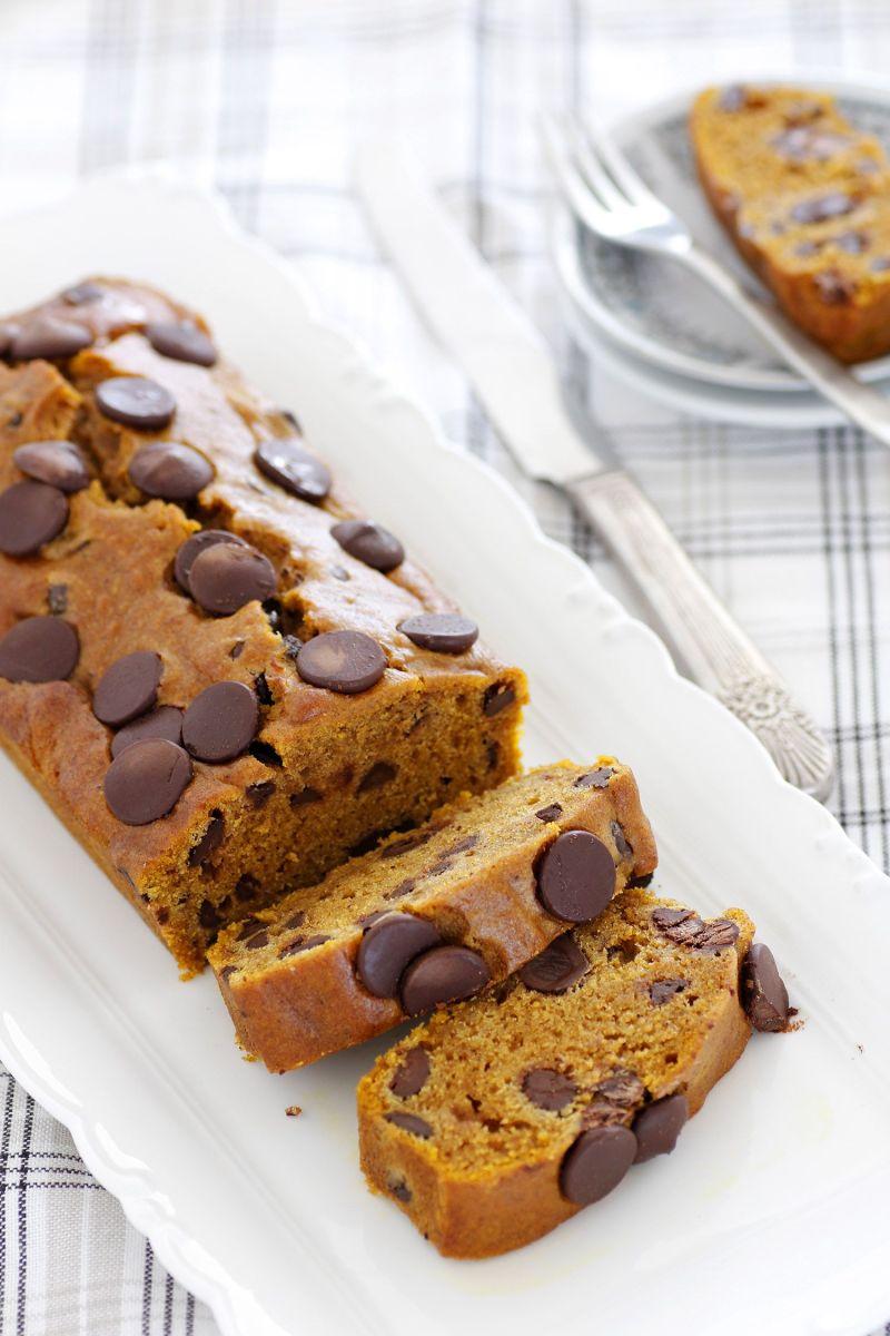 עוגת דלעת ושוקולד צ'יפס