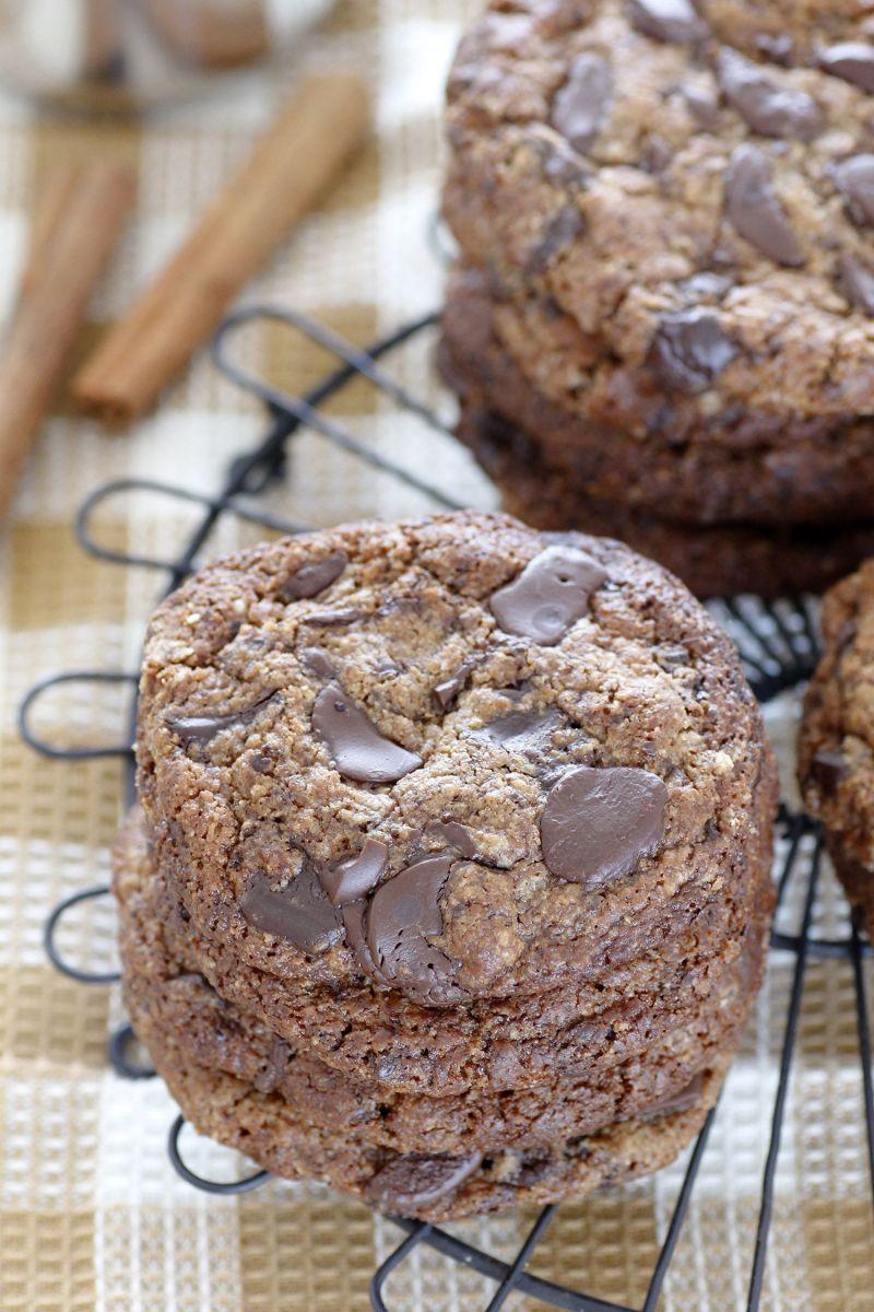 עוגיות שוקולד צ'יפס ללא גלוטן עם Pumpkin Spice