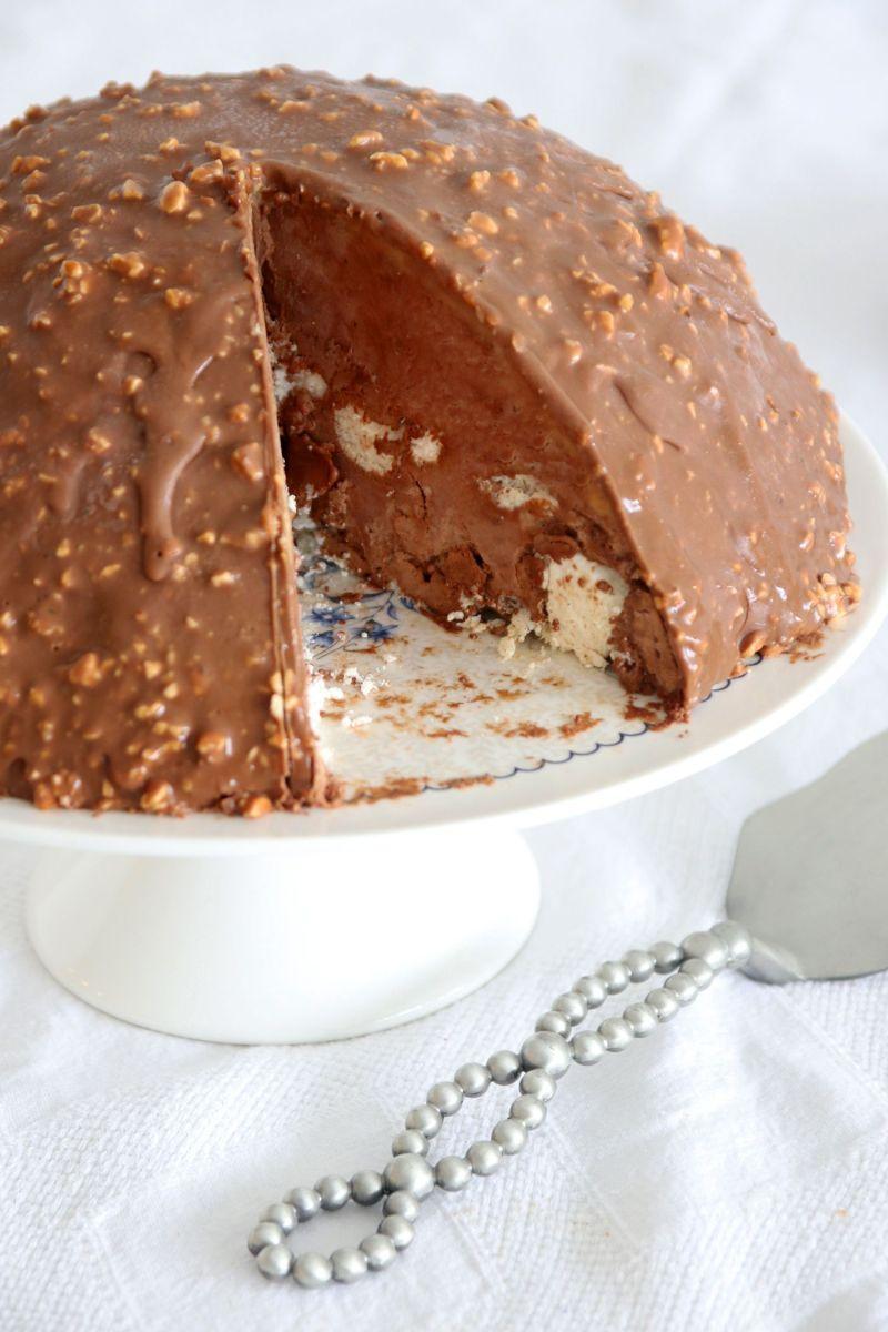עוגת בומב מוס שוקולד ומרנג ללא אפייה