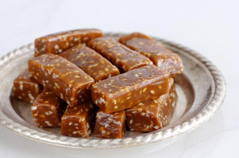 סוכריות קרמל שומשום