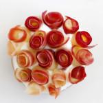 טארטלט ונוס – תפוחים, ורדים ומסקרפונה