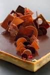 טארט שוקולד, חמאת בוטנים וריבה