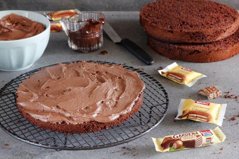 עוגת שוקולד לואקר ודבש