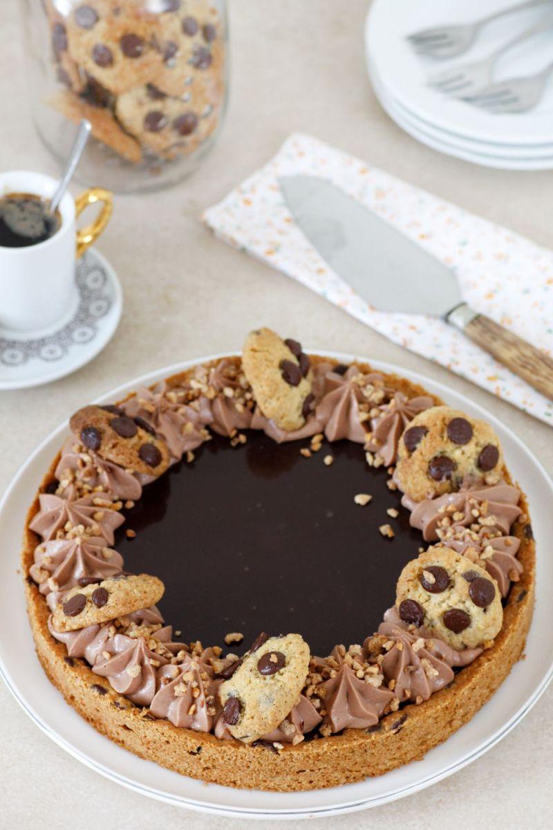 פאי עוגיות שוקולד צ'יפס ונוטלה