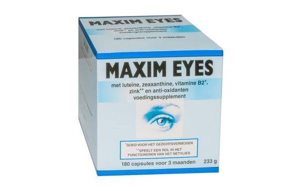 maxim eyes voedingssupplement