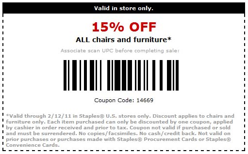 My New Furniture Store Coupon
