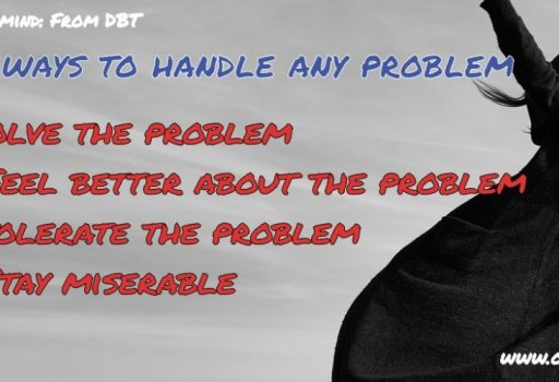 4 Ways To Handle Any Problem