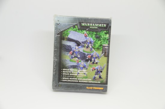 Space Marine Scout 3rd Edition