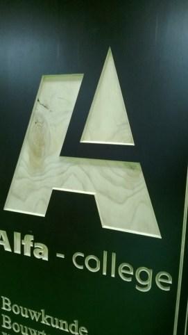Borden voor het Alfa-College