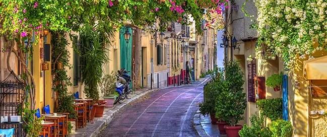 السياحة في اثينا - منطقة بلاكا اثينا