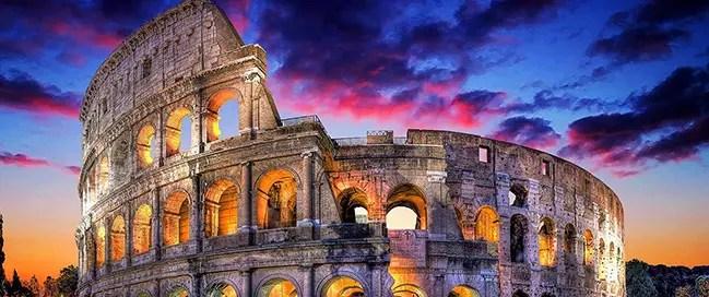 السياحة في إيطاليا - مدرج الكولوسيوم Colosseum