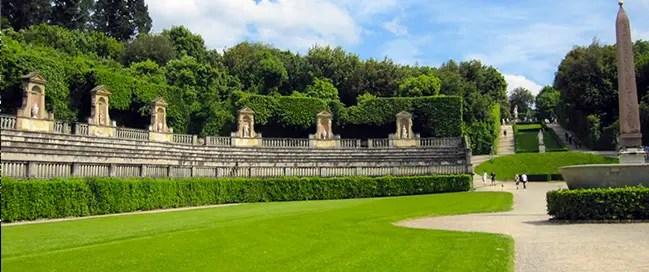 السياحة في إيطاليا - حدائق بوبولي