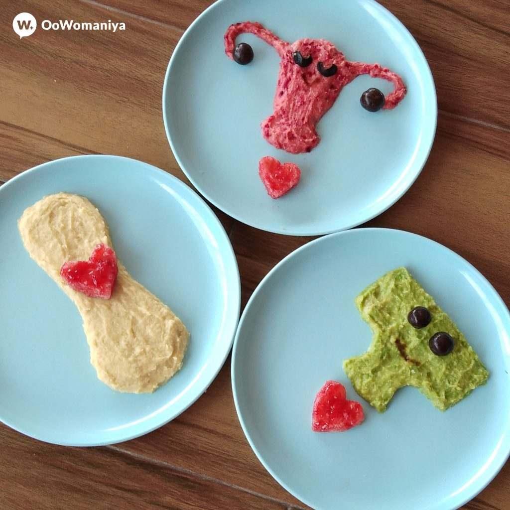 Sonam Jain creates a beautiful food art telling period stories.