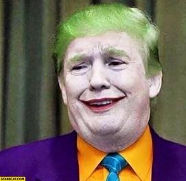 donald-trump-joker-makeup-batman | Oozle Media