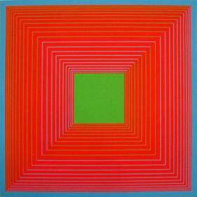 Richard Anuszkiewicz Sol I - 1965