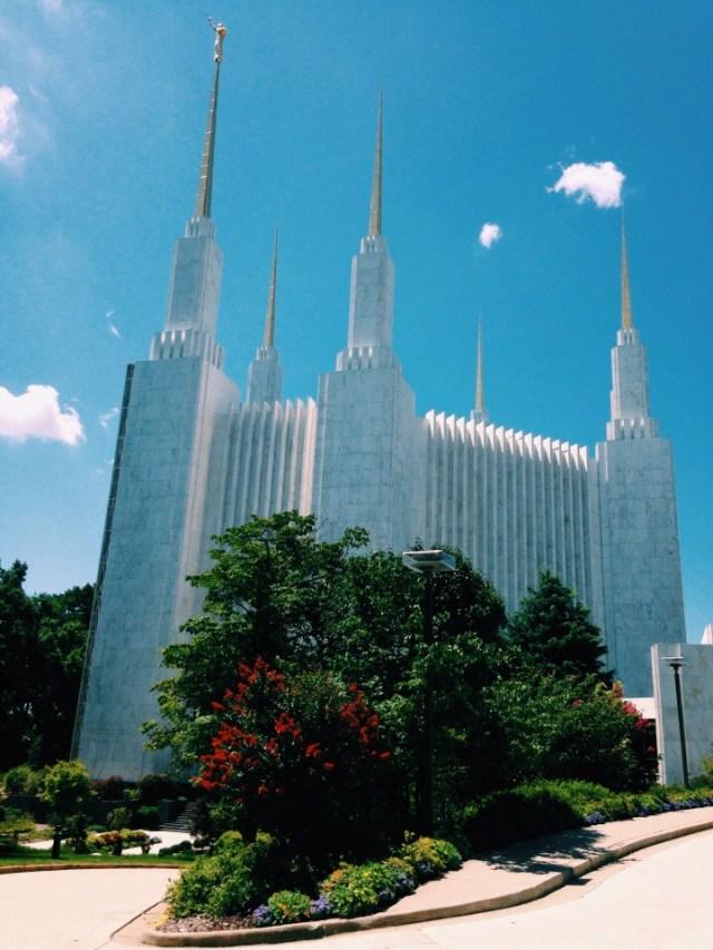 The Washington,D.C. Temple in Kesington, Maryland.