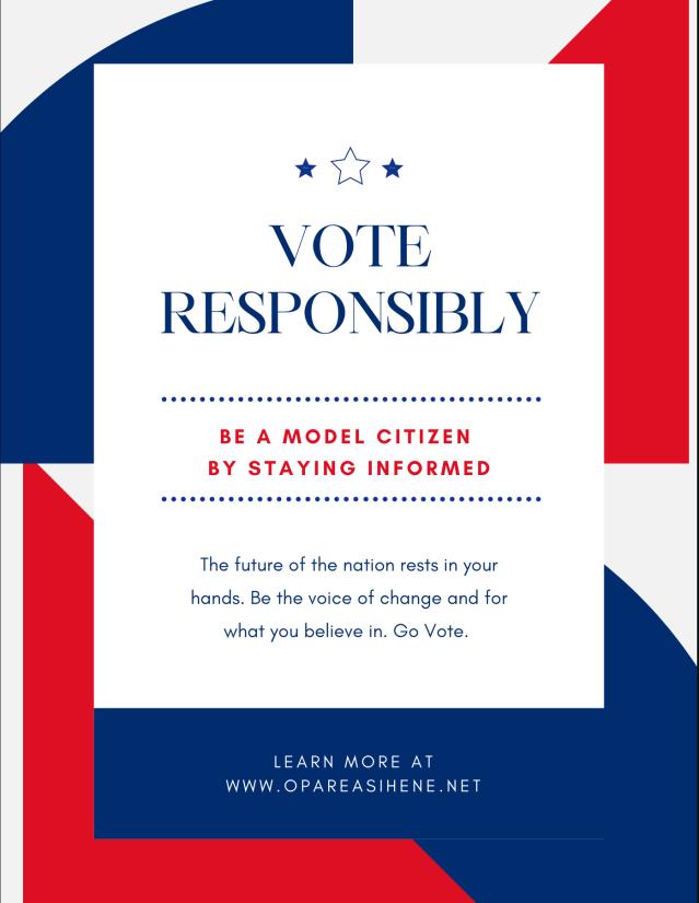 Vote Responsibly