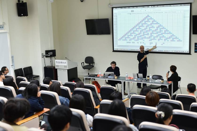 Olivier Pasquet teaching in Taipei dec 2016