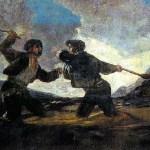 Riña a Garrotazos - Olivier Pasquet