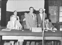 The delegation of Saudi Arabia to the historic 'Baghdad Conference' held between 10-14 September 1960