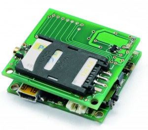 Mini GSM localizer without GPS