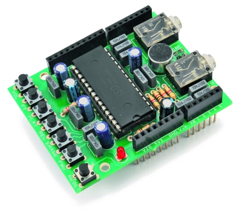 Voice Shield for Arduino | Open Electronics