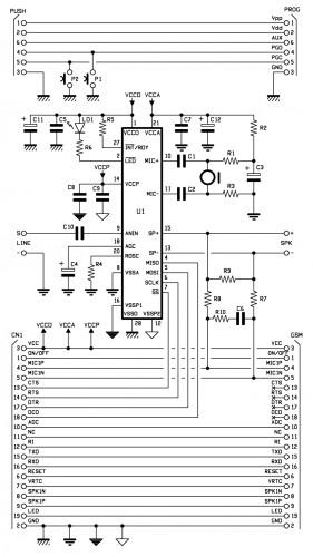 GSM_dialer_Voice_schematics