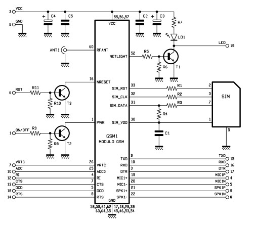 GSM_dialer_schematics